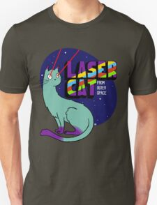 Laser Cat From Outer Space T-Shirt