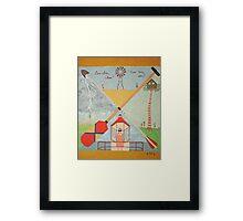 Moonrise Kingdom - Wes Anderson Painting Framed Print