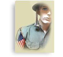 To Serve God and Country Metal Print