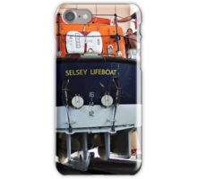 The LifeBoat  entering it's station. iPhone Case/Skin