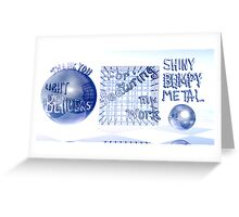 Thank You Light Benders Greeting Card