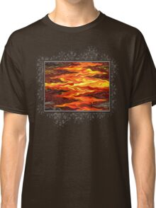 Color Fashion Waves Classic T-Shirt