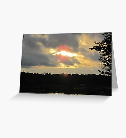 Sun in The Clouds Greeting Card