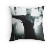 Free falling. Ready for take off Throw Pillow