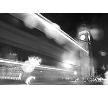 Westminster Bridge - London, England Photographic Print