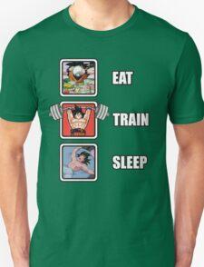 Eat, Train, Sleep - Goku T-Shirt