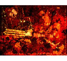 Rusted Armor Photographic Print