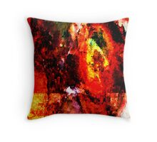 Shades of Rust Throw Pillow