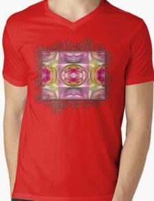 Star Elite Abstract Mens V-Neck T-Shirt