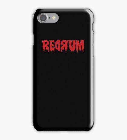 The Shining Redrum iPhone Case/Skin