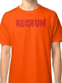The Shining Redrum Classic T-Shirt
