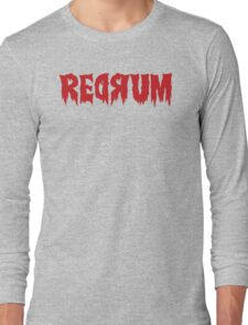The Shining Redrum Long Sleeve T-Shirt