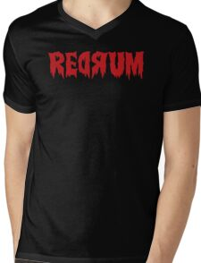 The Shining Redrum Mens V-Neck T-Shirt