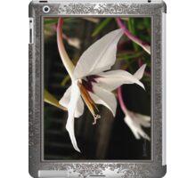 Acidanthera or Peacock Gladiolus iPad Case/Skin