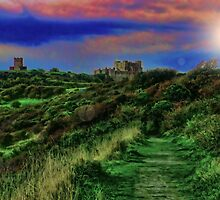 Wuthering Heights Meets Dover castle by ElsieBell