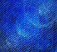 Bubbly Blues Stones  by Beatriz  Cruz