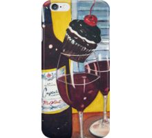 Cupcake wine and a Cupcake iPhone Case/Skin