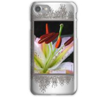 Oriental Lily Hybrid named Mojave iPhone Case/Skin