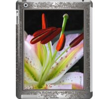 Oriental Lily Hybrid named Mojave iPad Case/Skin