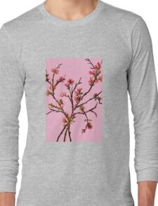 Cherry Blossoms from Amphai Long Sleeve T-Shirt