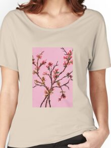 Cherry Blossoms from Amphai Women's Relaxed Fit T-Shirt