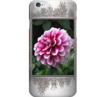 Dwarf Dahlia named Colima iPhone Case/Skin