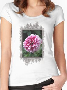 Dwarf Dahlia named Colima Women's Fitted Scoop T-Shirt