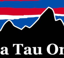 Alpha Tau Omega Red White and Blue Sticker