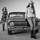 Kristel and Jessica by Glen Barton