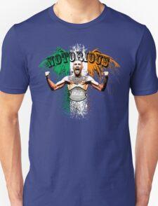 Conor McGregor Notorious UFC Unisex T-Shirt