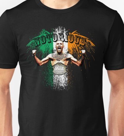 Conor McGregor Notorious UFC Unisex T-Shirt