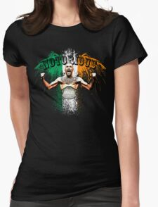 Conor McGregor Notorious UFC Womens Fitted T-Shirt