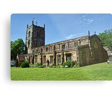Skipton Parish Church Metal Print