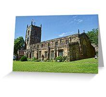 Skipton Parish Church Greeting Card