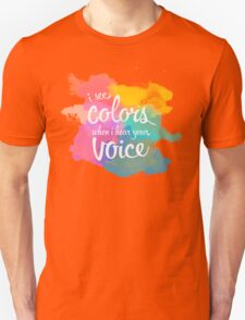Synesthesia - Andrew McMahon Unisex T-Shirt