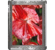 Zonal Geranium named Mosaic Red iPad Case/Skin