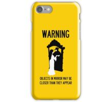 A Note of Concern Regarding Mirrors iPhone Case/Skin