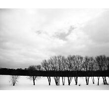 White Sky Photographic Print