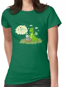 Dragon's Tale Womens Fitted T-Shirt