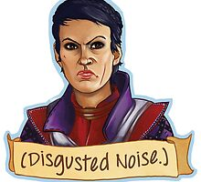 Disgusted Noise by crackedblackinc