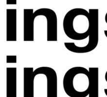Stuffs&Things Sticker