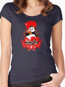 China Propaganda - Panda Women's Fitted Scoop T-Shirt