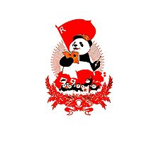 China Propaganda - Panda Photographic Print