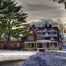 New England Homestead by Monica M. Scanlan