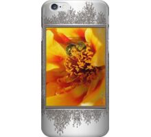 Portulaca in Orange Fading to Yellow iPhone Case/Skin