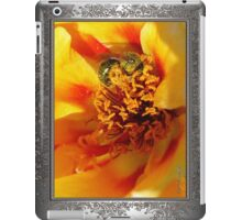 Portulaca in Orange Fading to Yellow iPad Case/Skin