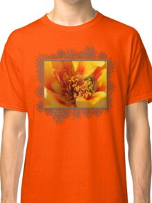 Portulaca in Orange Fading to Yellow Classic T-Shirt