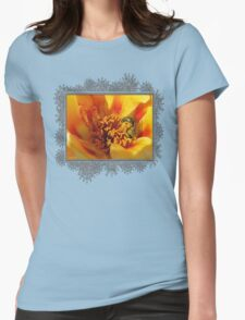 Portulaca in Orange Fading to Yellow T-Shirt