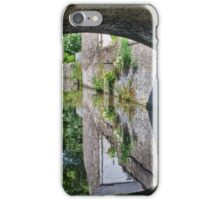 Mill Bridge, Skipton. iPhone Case/Skin