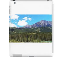 Canmore Mountains iPad Case/Skin